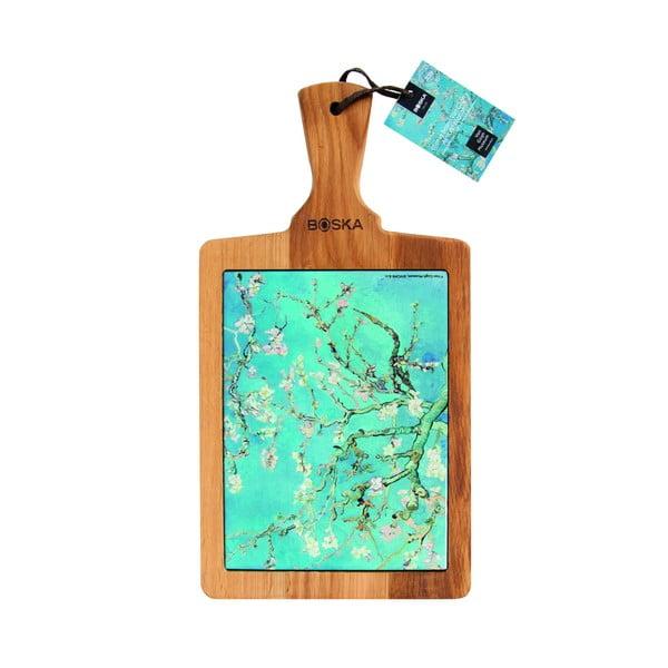 Servírovací prkénko Boska Serving Board Van Gogh Almond Blossom, 25 x 18 cm