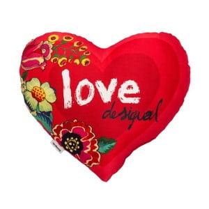 Polštář DESIGUAL Heart Amaranth