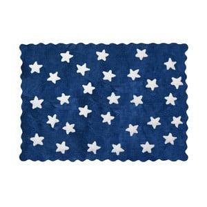 Koberec Eden 160x120 cm, sytě modrý