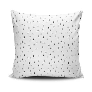 Față de pernă Calento Cassuya, 45 x 45 cm, negru – alb de la Cushion Love