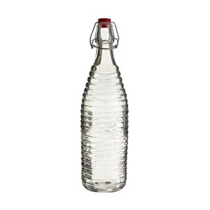 Skleněná lahev Premier Housewares Clip, výška32cm