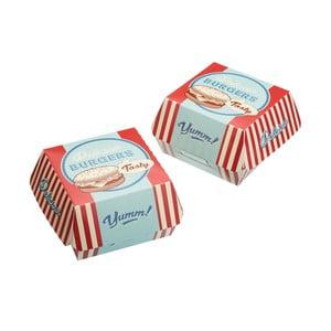 Sada 6 krabiček na hamburgery Stateside