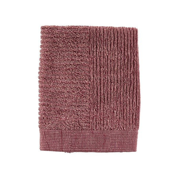 Classic rózsaszín kéztörlő, 50 x 70 cm - Zone
