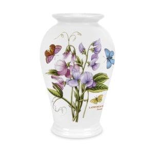 Kameninová váza s květinami Portmeirion Flower, výška 20 cm