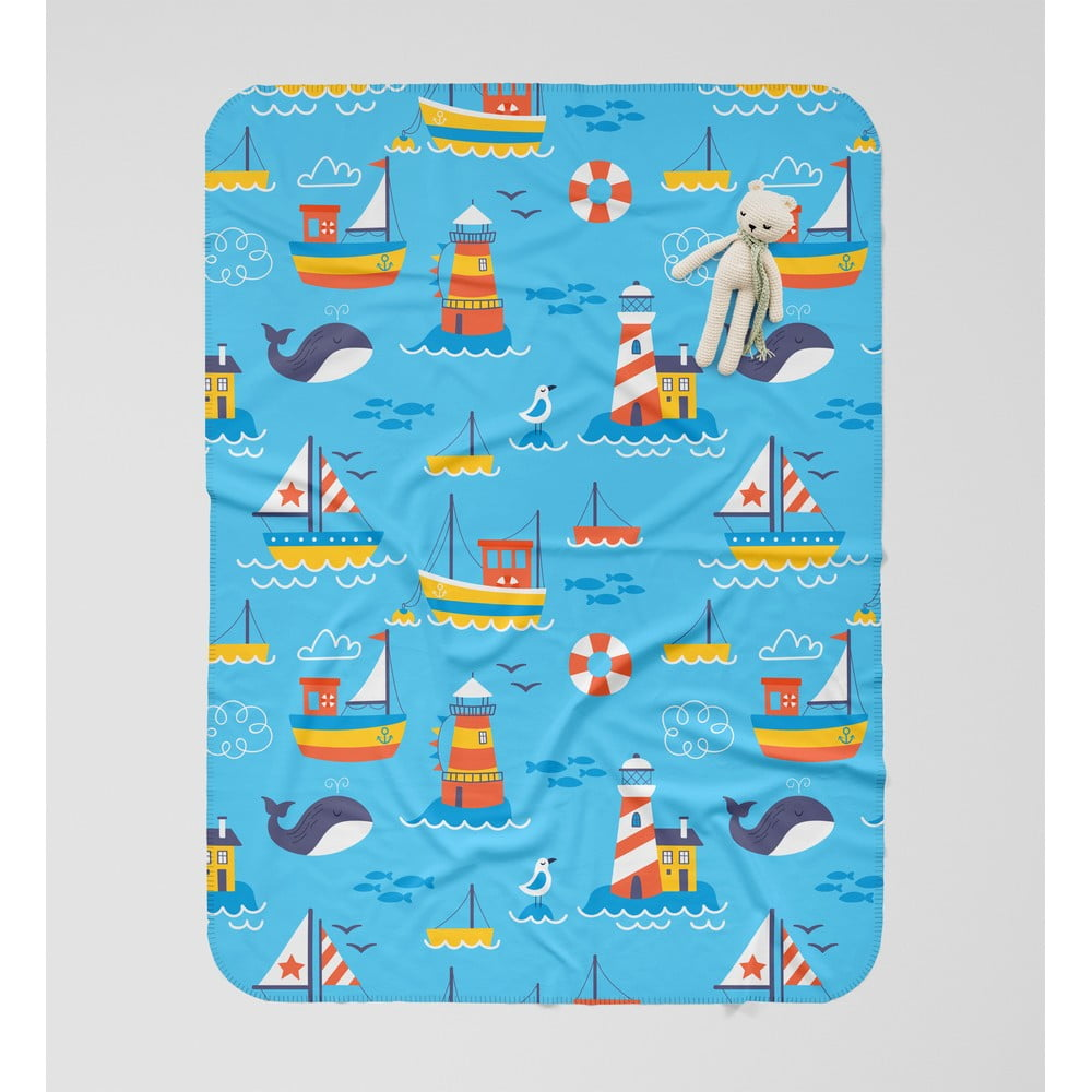 Dětská deka OYO Kids Hello Summer, 120 x 160 cm