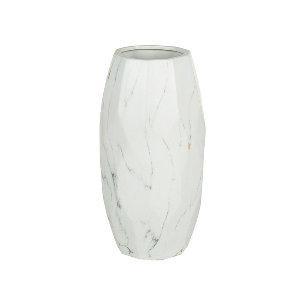 Bílá keramická váza Santiago Pons Arle