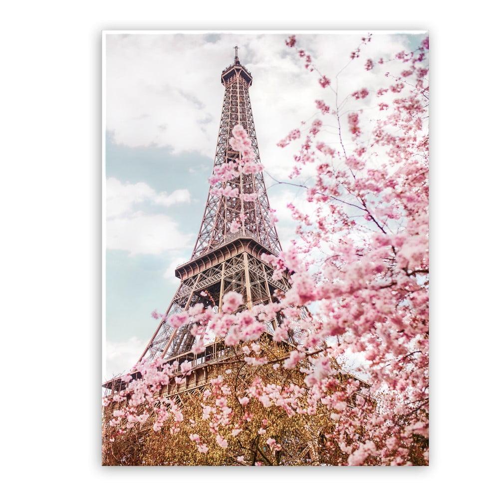 Produktové foto Obraz na plátně Styler Romantic Eiffel, 100 x 75 cm