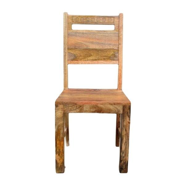 Židle z masivního mangového dřeva Massive Home Ella