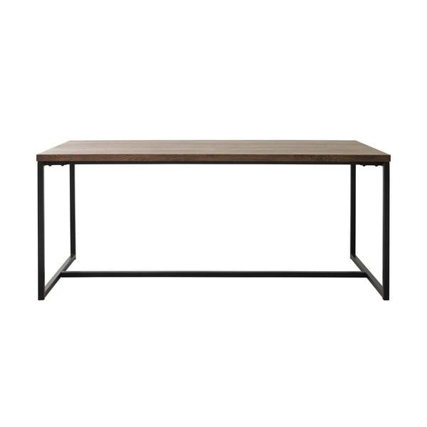 Rivoli étkezőasztal tölgyfa dekorral - Unique Furniture