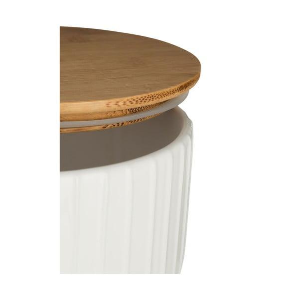 Bílá dóza Premier Housewares White Pin,