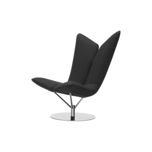 Angel Vision Grey sötétszürke fotel - Softline