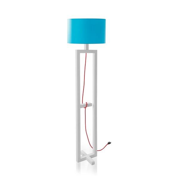 Stojací lampa Dal White/Blue
