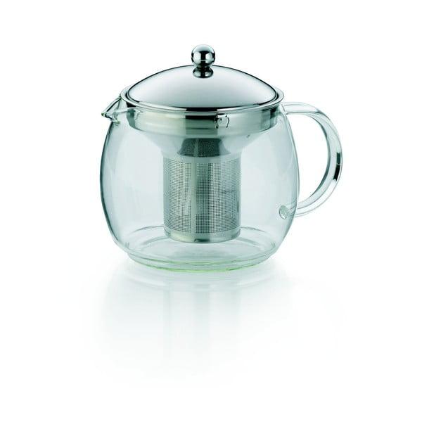Ceainic din sticlă cu sită Kela Cylon, 1,2 l