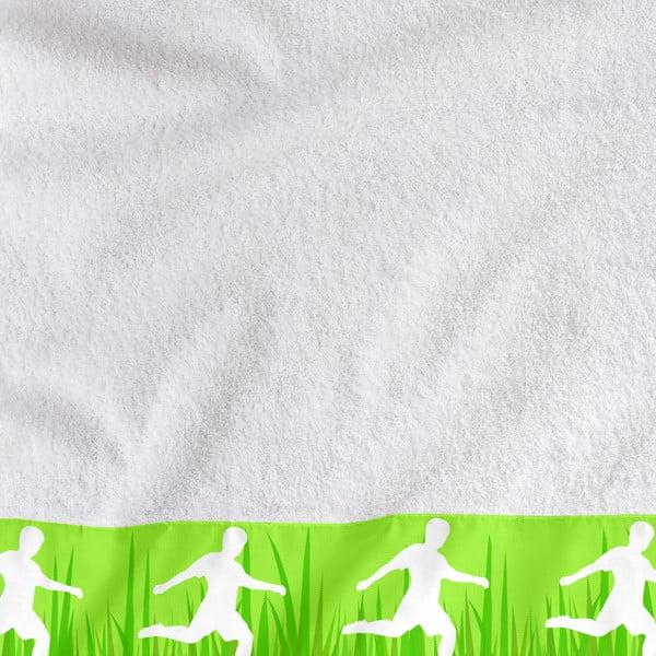 Sada 2 ručníků Football, 50x100 cm a 70x140 cm