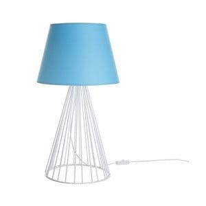 Stolní lampa Wiry Blue/White