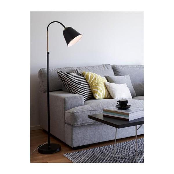 Černá stojací lampa Markslöjd Kolding