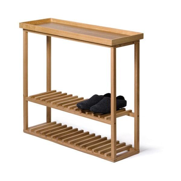 Botník/úložný stolek s přírodní deskou Wireworks Hello Storage