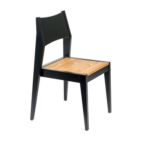 Jedálenská stolička z borovicového dreva Askala Bias