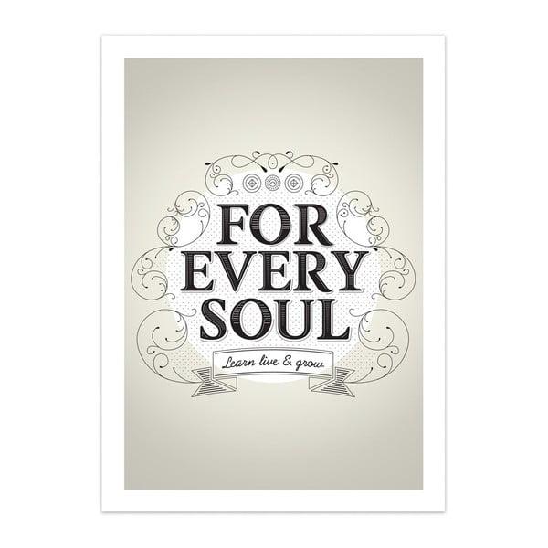 Plakát Every Soul, limitovaná edice