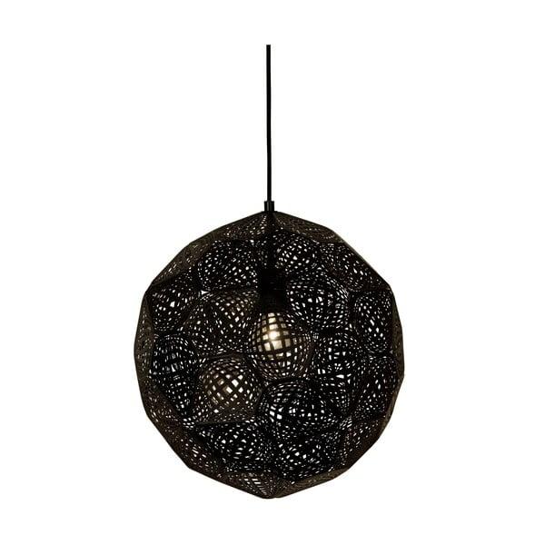 Závěsné světlo Metrix Dark, 40 cm