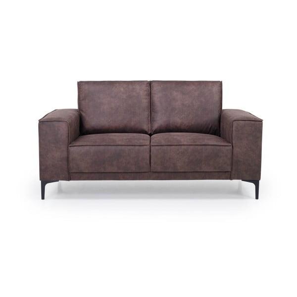 Czekoladowa sofa 2-osobowa Softnord Copenhagen