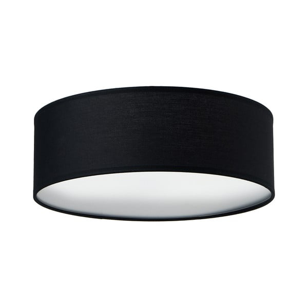 Černé stropní svítidlo Sotto Luce MIKA,⌀30cm