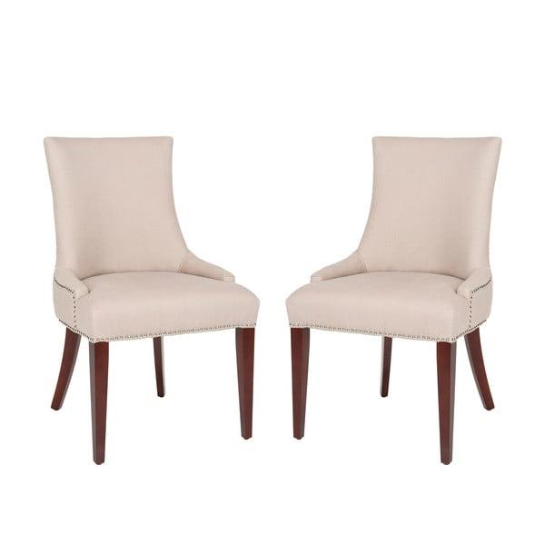 Sada 2 židlí Lester