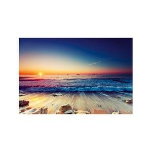 Obraz Tropical Paradise Sunset, 100x70cm