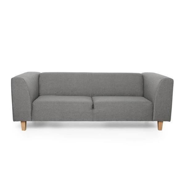 Diva szürke háromszemélyes kanapé - Softnord
