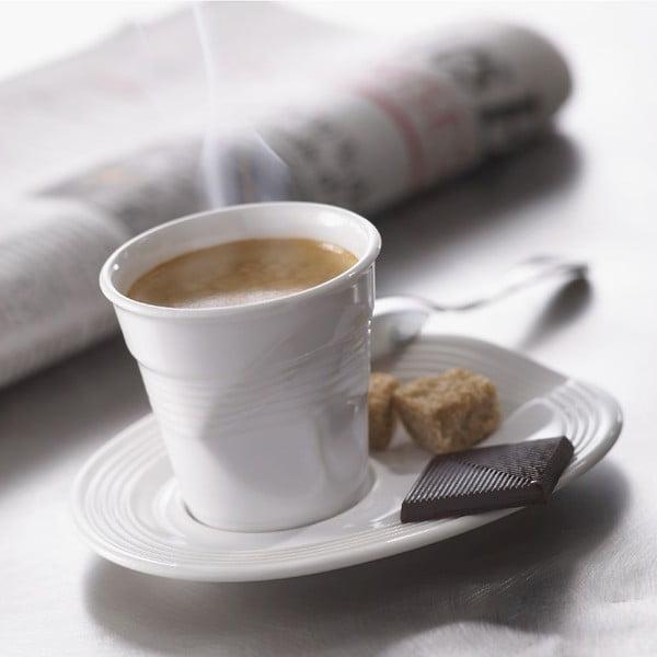 Kelímek na espresso Froisses 8 cl, bílý