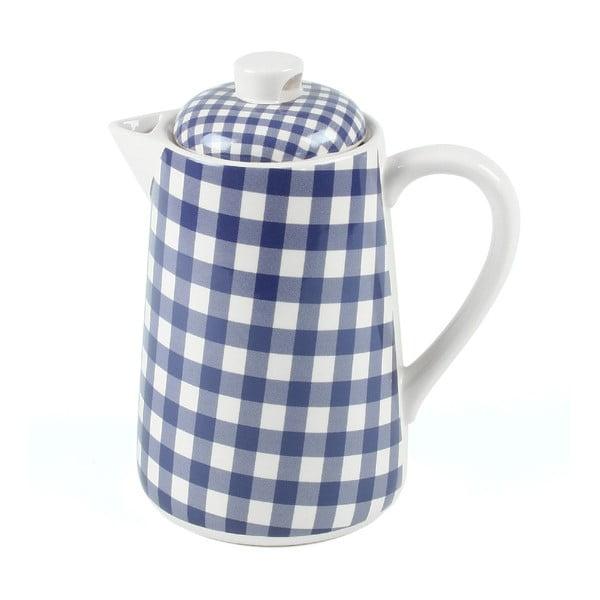 Konvice na čaj, 1,5 litru, modrá