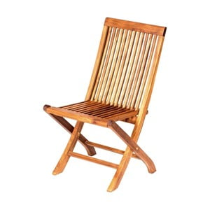 Skládací zahradní židle z teakového dřeva Massive Home Naomi Derinne
