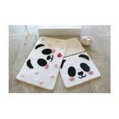Sada 3 koupelnových předložek Alessia Panda