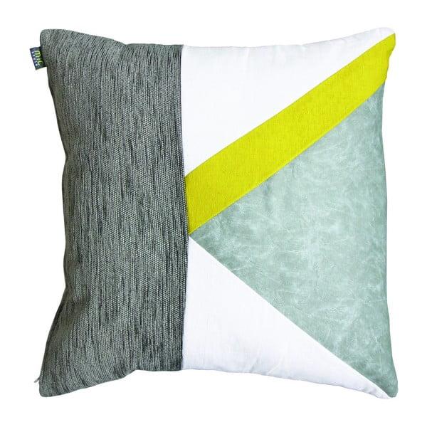 Triangle, šedo-žlutý
