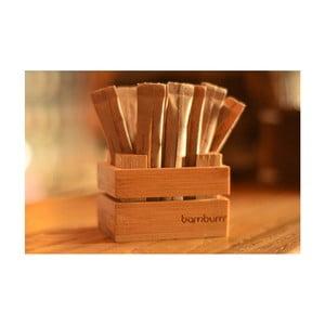 Suport din bambus pentru plicuri de zahăr Bambum Cassi