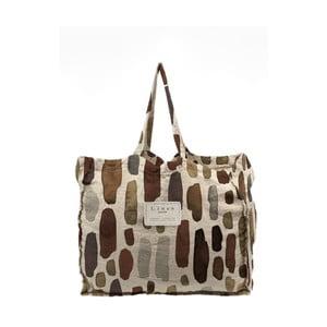 Látková taška Linen Couture Geometric, šířka 50 cm