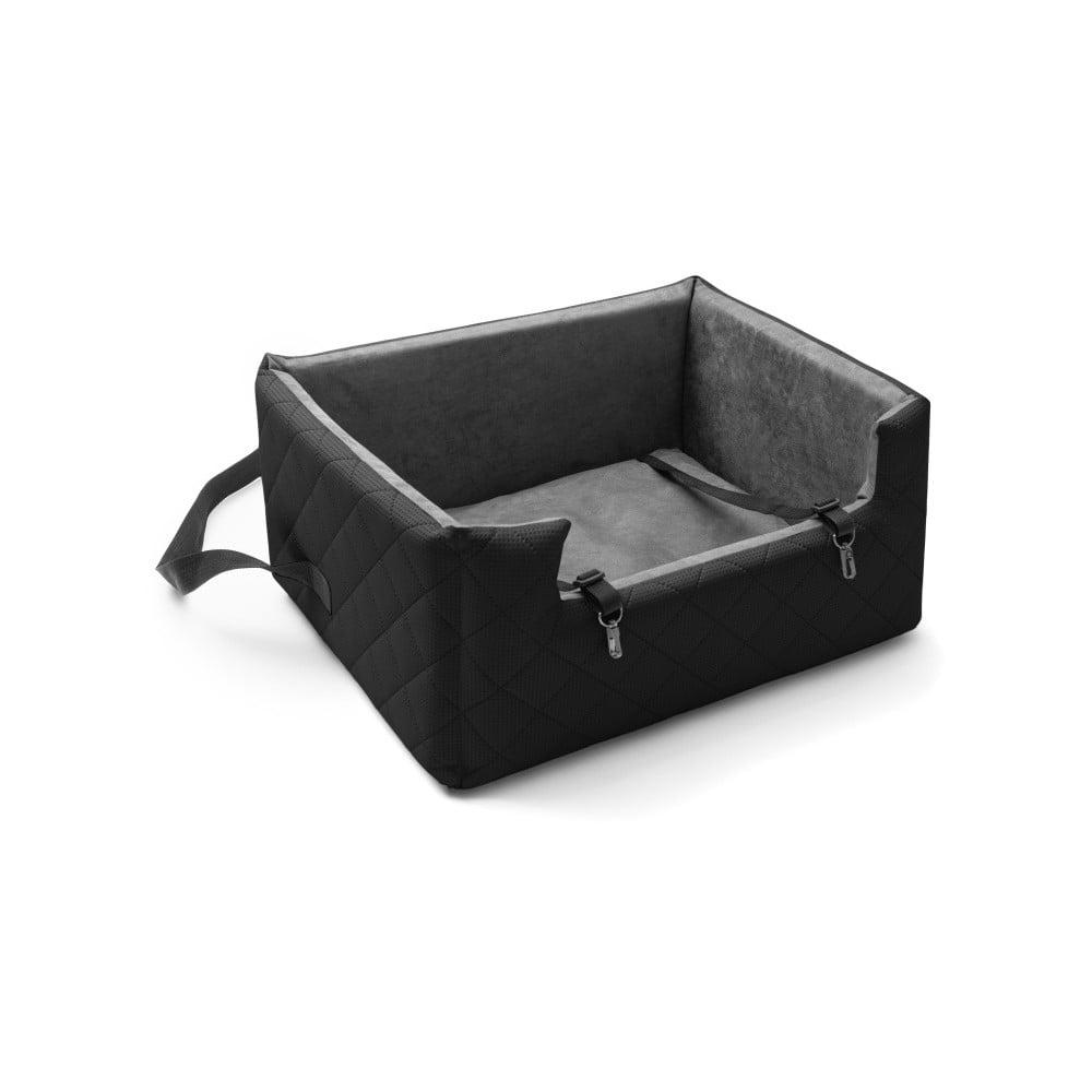 Černá přepravní taška pro psa do auta Marendog Travel, 50 x 57 x 25 cm