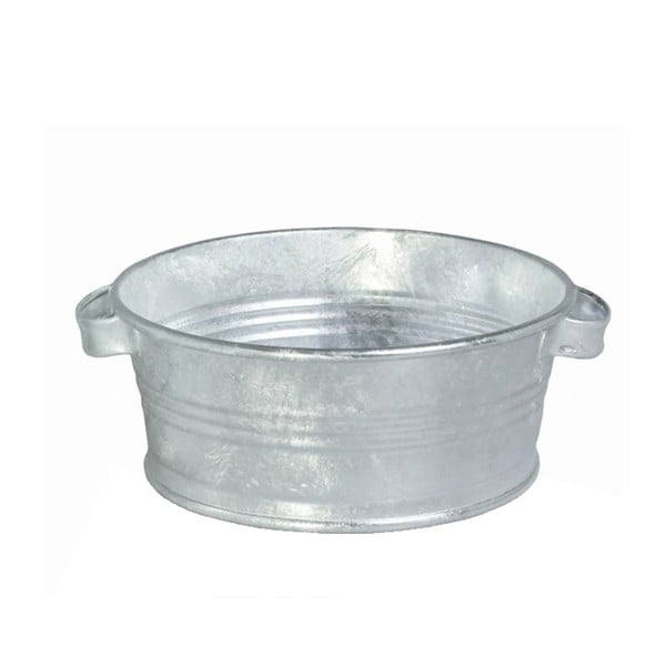 Kovový kbelík s uchy Kovotvar, 10x27 cm