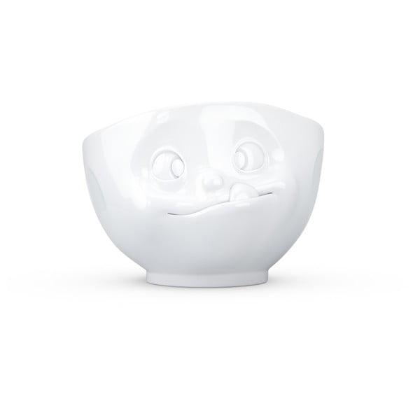 Bílá porcelánová mlsná miska 58products