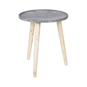Šedý odkládací stolek De Eekhoorn Rover
