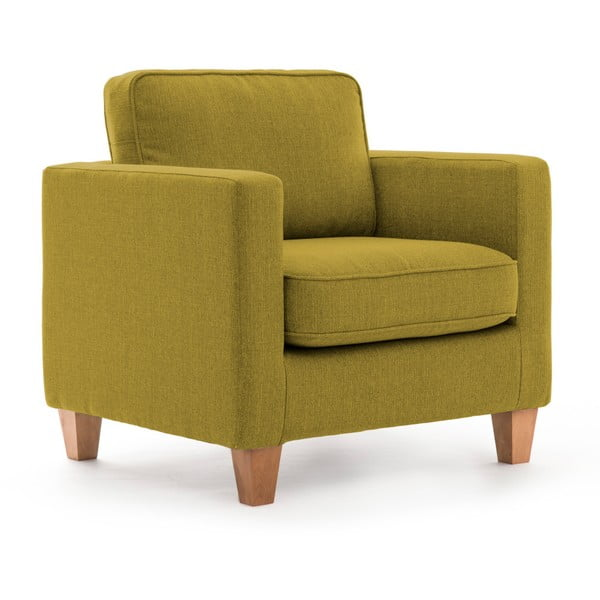 Zielony fotel Vivonita Sorio
