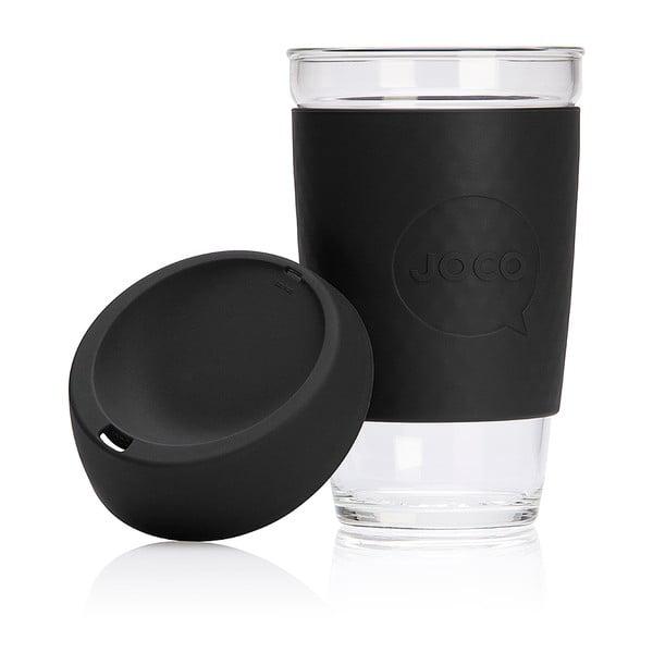 Cestovní hrnek na kávu Joco Cup 454 ml, černý