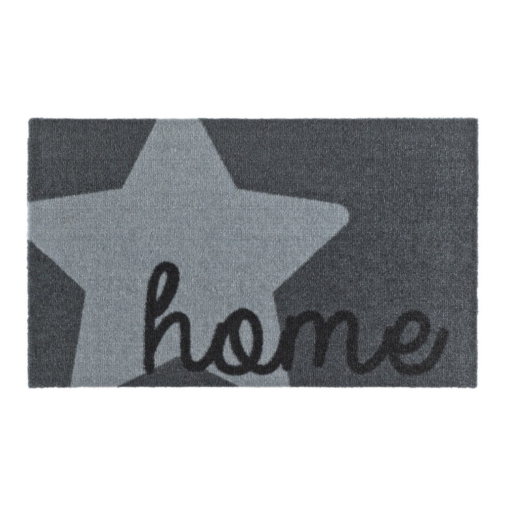 Šedá rohožka Zala Living Design Star Home Grey 50 x 70 cm