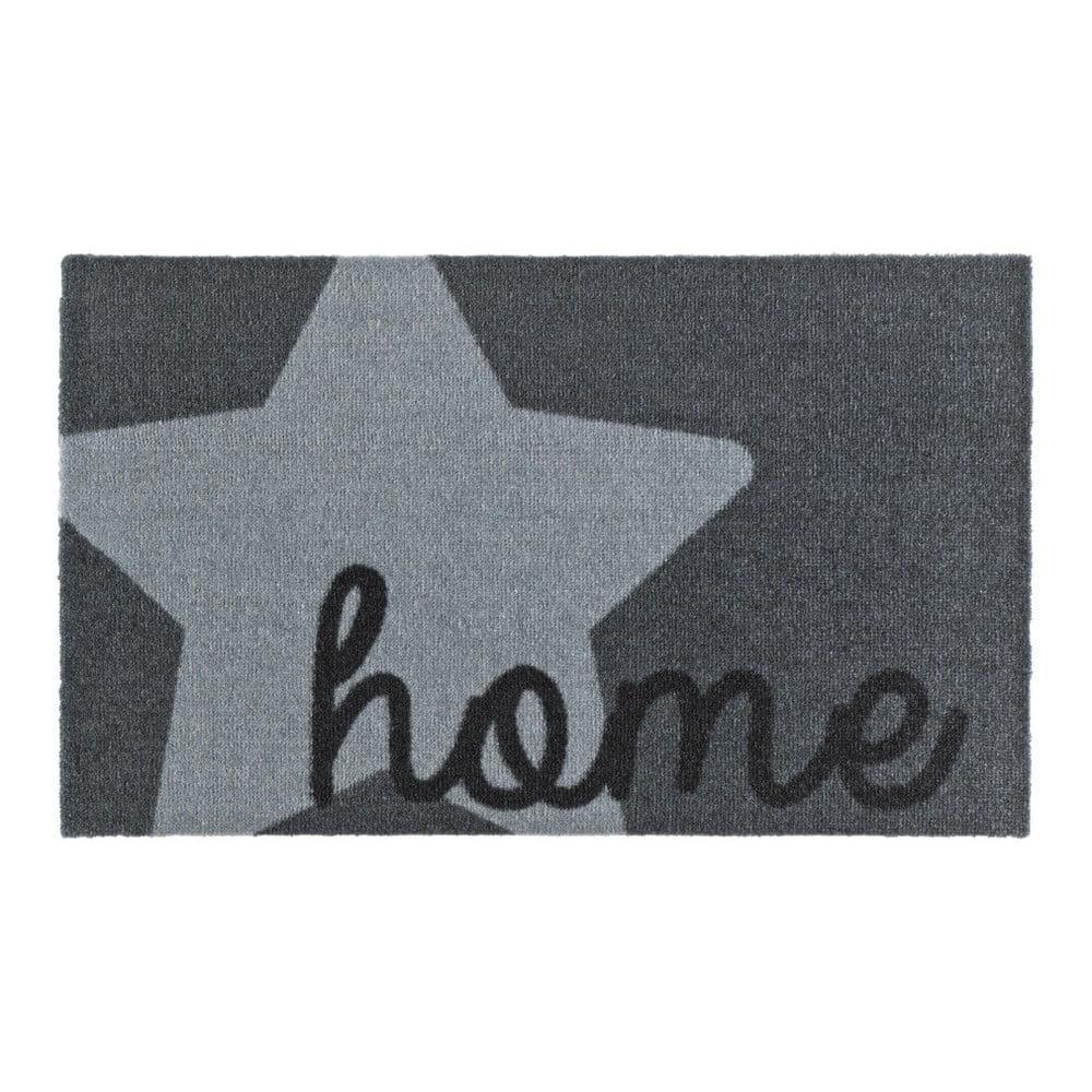 Šedá rohožka Zala Living Design Star Home Grey, 50x70cm