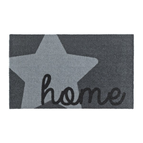 Sivá rohožka Zala Living Design Star Home Grey, 50 × 70 cm