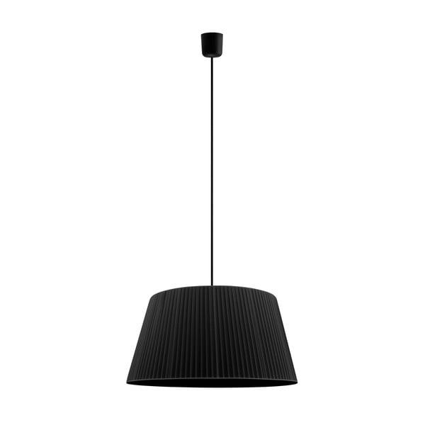 Černé závěsné svítidlo Sotto Luce KAMI,Ø54cm