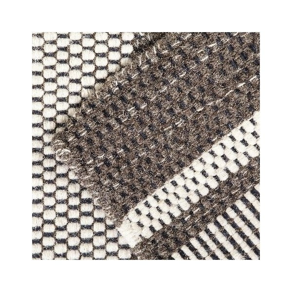 Vlněný koberec Sheen Grey, 160x230 cm