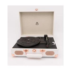 Bílý gramofon GPO Soho White