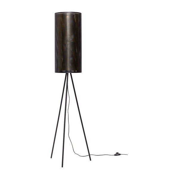 Černá volně stojící lampa Hübsch Belo