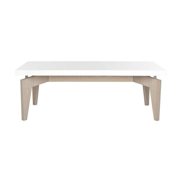 Kávový stůl Josef, světlé nohy